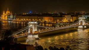 River Danube on Night Cruise