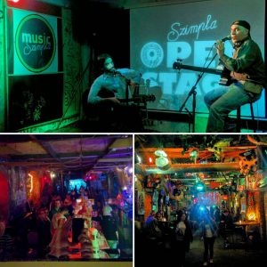 Szimpla Kert Ruin bar Open stage Concert in Budapest