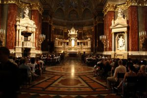 Organ Music in St Stephen's Basilica in Budapest