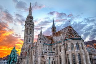 Matthias Church in Budapest by Alex