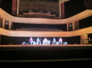 Concert Hall in Palace of Arts in Budapest by L Tillery
