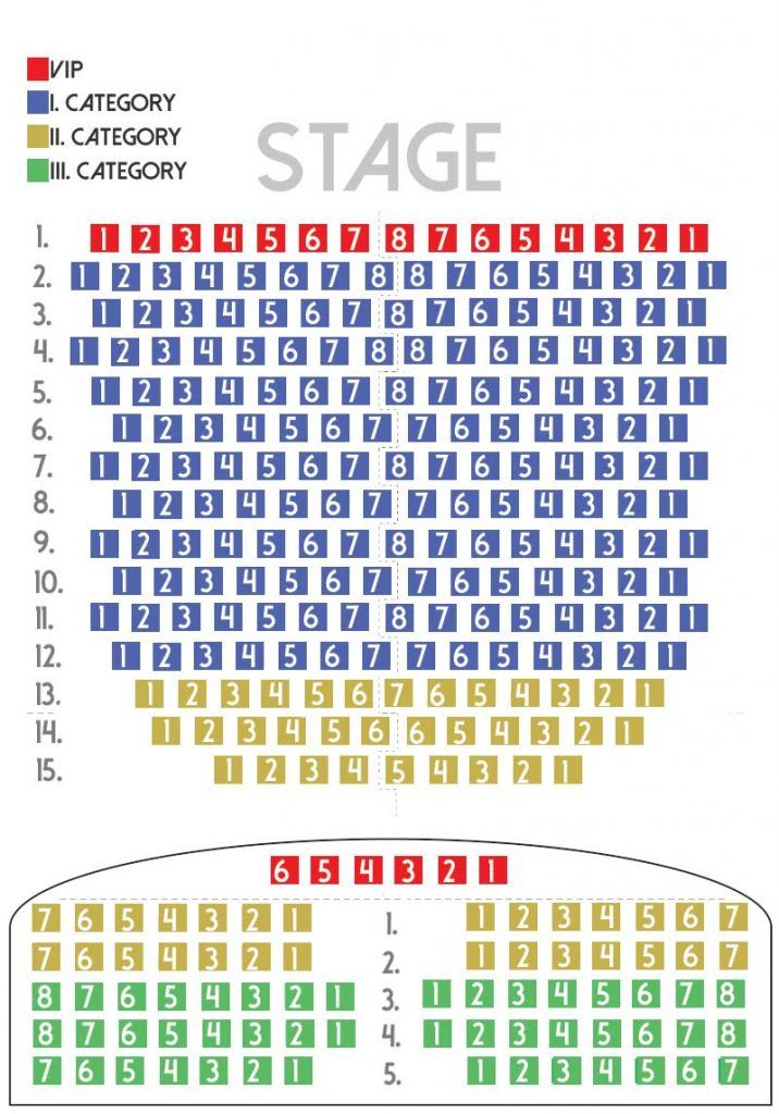 Danube Palace Seating Plan