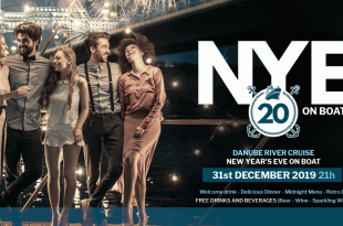 Retro New Years Eve Party with Disco Music in Budapest