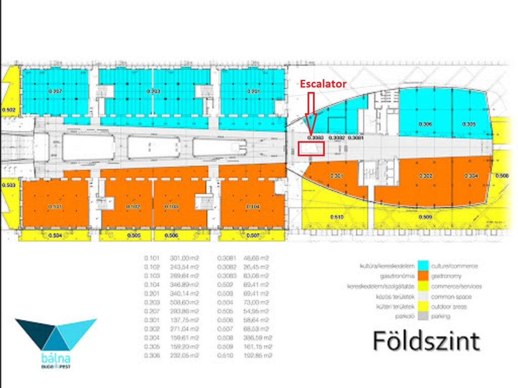 Budapest Whale Ground Floor Map