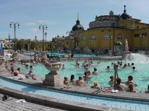 Szechenyi Baths by Tjabeljan