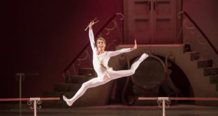 Delibes' Sylvia ballet in Erkel Opera Theatre in Budapest