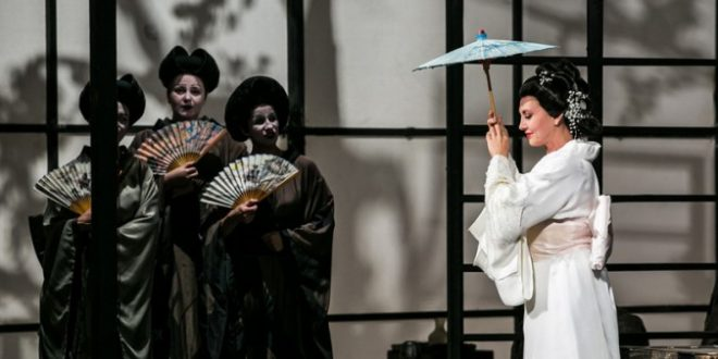 Puccini's Madame Butterfly in Erkel Opera Theatre in Budapest