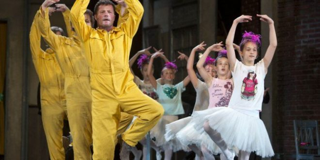 Billy Elliot in Erkel Opera Theatre in Budapest