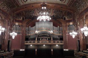 Budapest Franz Liszt Music Academy Concert Hall Organ