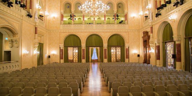 Concert Hall in Pesti Vigado Budapest