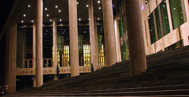 Palace of Arts Budapest stairs photo by molamoni