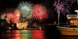 Fireworks Cruise Budapest Europa Boat