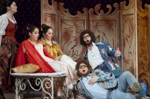 Cosi fan tutte in Erkel Opera Theatre in Budapest