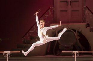 Delibes' Sylvia ballet in Erkel Opera Theatre in Budapest