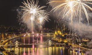 Budapest Fireworks on Aug 20